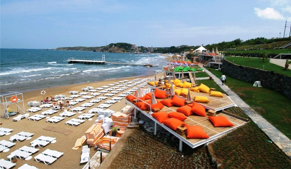 Пляж Солар. Сарыйер, Стамбул