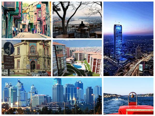 Официальные районы Стамбула