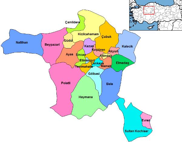 Город Анкара – официальная столица Турции