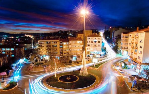 Площадь Независимости в Текирдаг, Турция