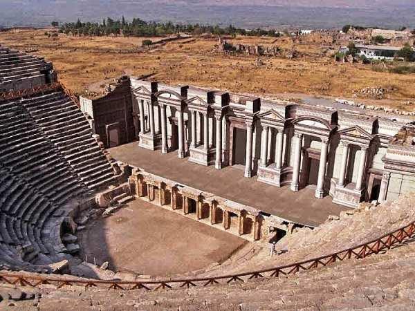 Древний театр в Хиераполисе