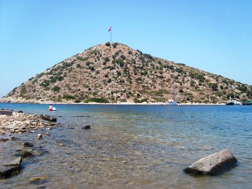 Остров Тавшан в Бодруме