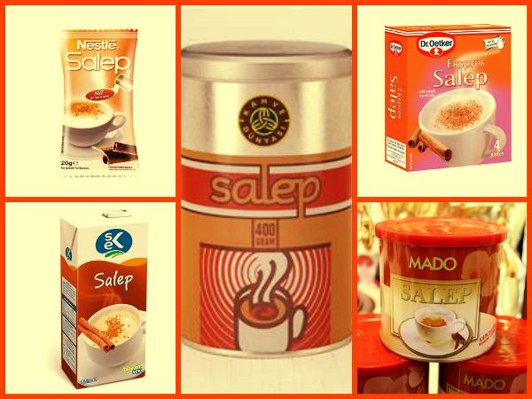 Торговые марки напитка Салеп