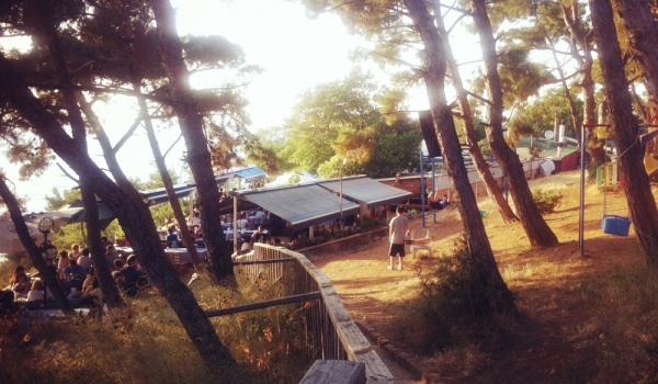 Ресторан Kalpazankaya на острове Бургаз