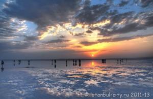 Солёное озеро в Турции взяли под контроль Юнеско