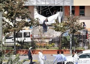 Взрыв в Стамбуле 11 сентября у полицейского участка