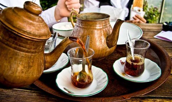 Подарки из Турции – сувениры навсегда. Чай, чайник и стаканы.
