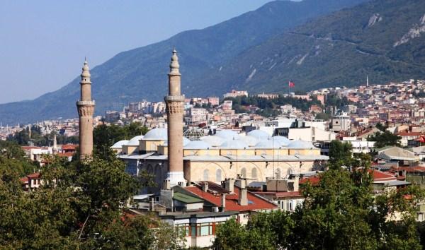 Бурса. Турецкая провинция