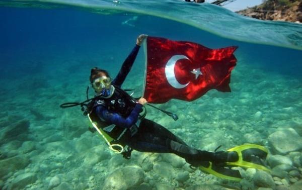 Дайвинг в Турции – красивейшие места от профессионалов